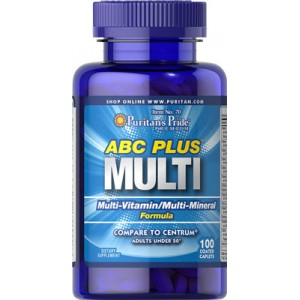 Fórmula con multivitaminas y multiminerales ABC Plus® - 100 cap.