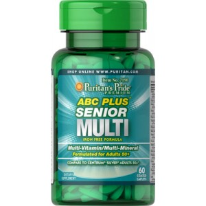 Fórmula multivitamínica y multimineral para adultos ABC Plus® - 60 cap.