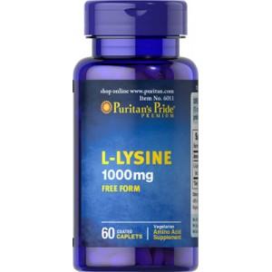 L-Lisina, 1000 mg - 60 cap.