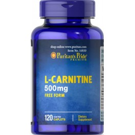 L-Carnitina, 500 mg - 120 cap.