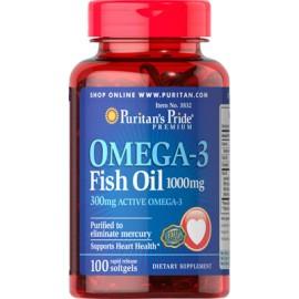 Aceite de pescado con Omega-3, 1000 mg - 100 cap.