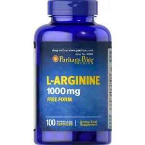 L-Arginina, 1000 mg