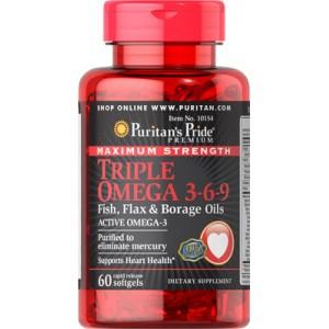 Triple Omega 3-6-9 de máxima potencia - 60 cap.