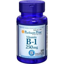 Vitamina B-1, 250 mg - 100 cap.