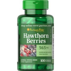 Bayas de espino blanco, 565 mg -100 cap.