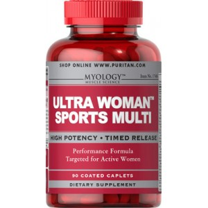 Multivitaminas Ultra Woman™ para deporte