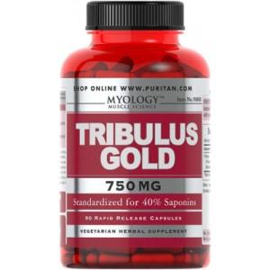 Tribulus Gold, 750 mg 90 cápsulas
