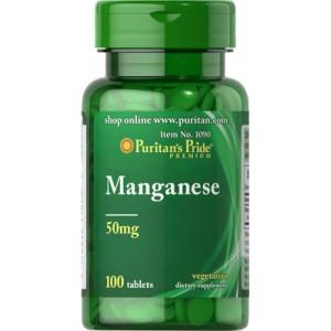 Manganeso, 50 mg - 100 cap.
