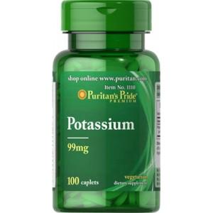 Quelato de potasio, 99 mg - 100 cap.