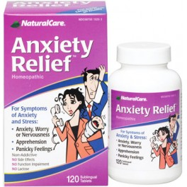 Anxiety Relief. 120 cap.