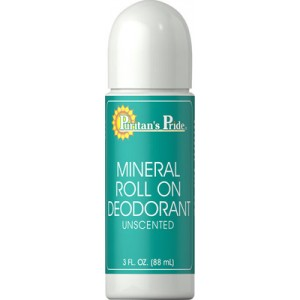 Mineral Roll On Deodorant - 3 Oz.