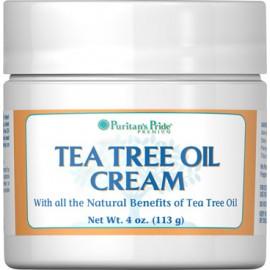 Crema de aceite del árbol de té. 4 Oz. - 113 gr.