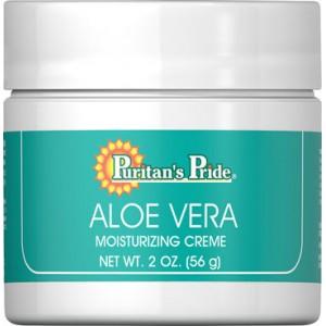 Crema Hidratante con Aloe Vera natural - 2 Oz. - 56 gr.