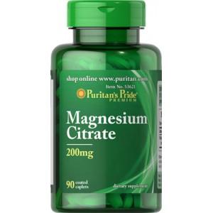 Citrato de magnesio, 200 mg - 90 cap.
