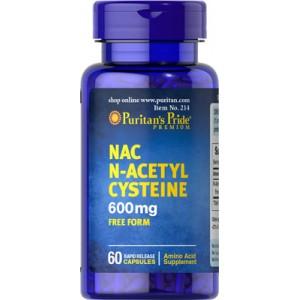 N-acetil cisteína (NAC), 600 mg - 60 cap.