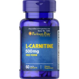 L-Carnitina, 500 mg - 60 cap.