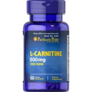 L-Carnitina, 500 mg - 60 cap.