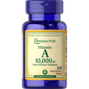 Vitamina A - 10.000 UI, 100 Softgels