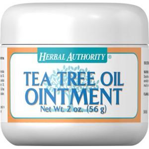 Ungüento de aceite del árbol de té - 2 Oz - 56 gr.