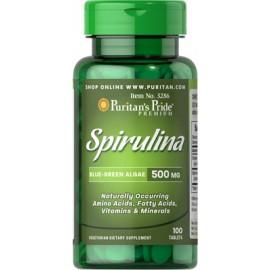 Espirulina, 500 mg - 100 cap.
