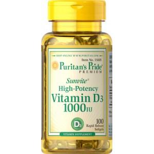 Vitamina D3 1000 UI - 100 cap.