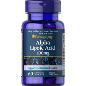 ALA - Ácido alfa lipoico, 100 mg - 60 cap.