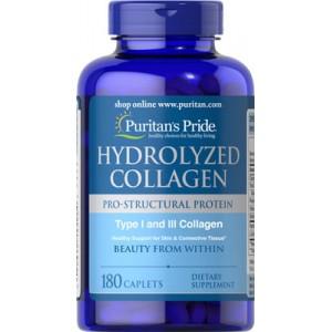 Colágeno hidrolizado, 1000 mg - 180 cap.