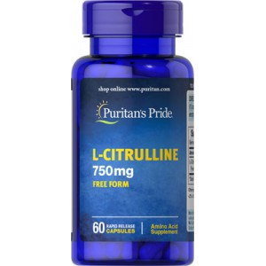 L-Citrulline 750mg - 60 cap.