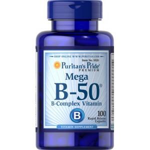 Complejo de vitaminas B-50® - 100 cap.