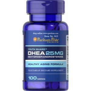 DHEA, 25 mg- 100 cap.