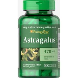 Astragalus 470 mg. 100 cápsulas